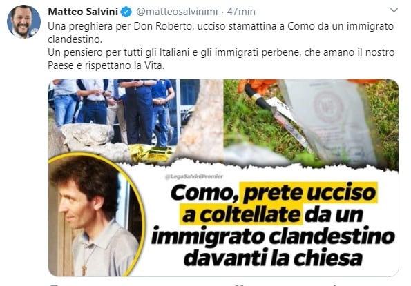 salvini don roberto malgesini immigrato 2