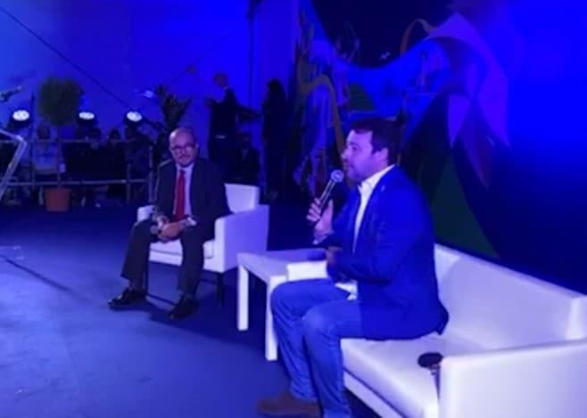 Salvini ha la febbre ma sta sul palco invece di stare a casa