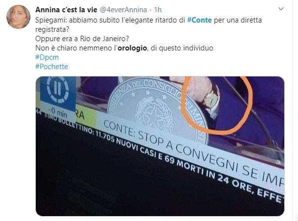 OROLOGIO DI CONTE 21 30 3