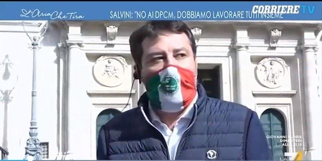 Salvini vaccino antinfluenzale garantito in Lombardia soggetti fragili