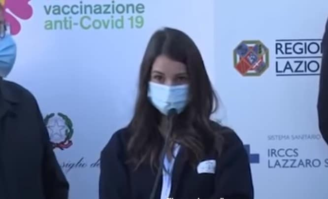 claudia alivernini insulti no vax