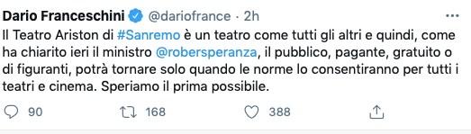 Ariston sanremo francescini