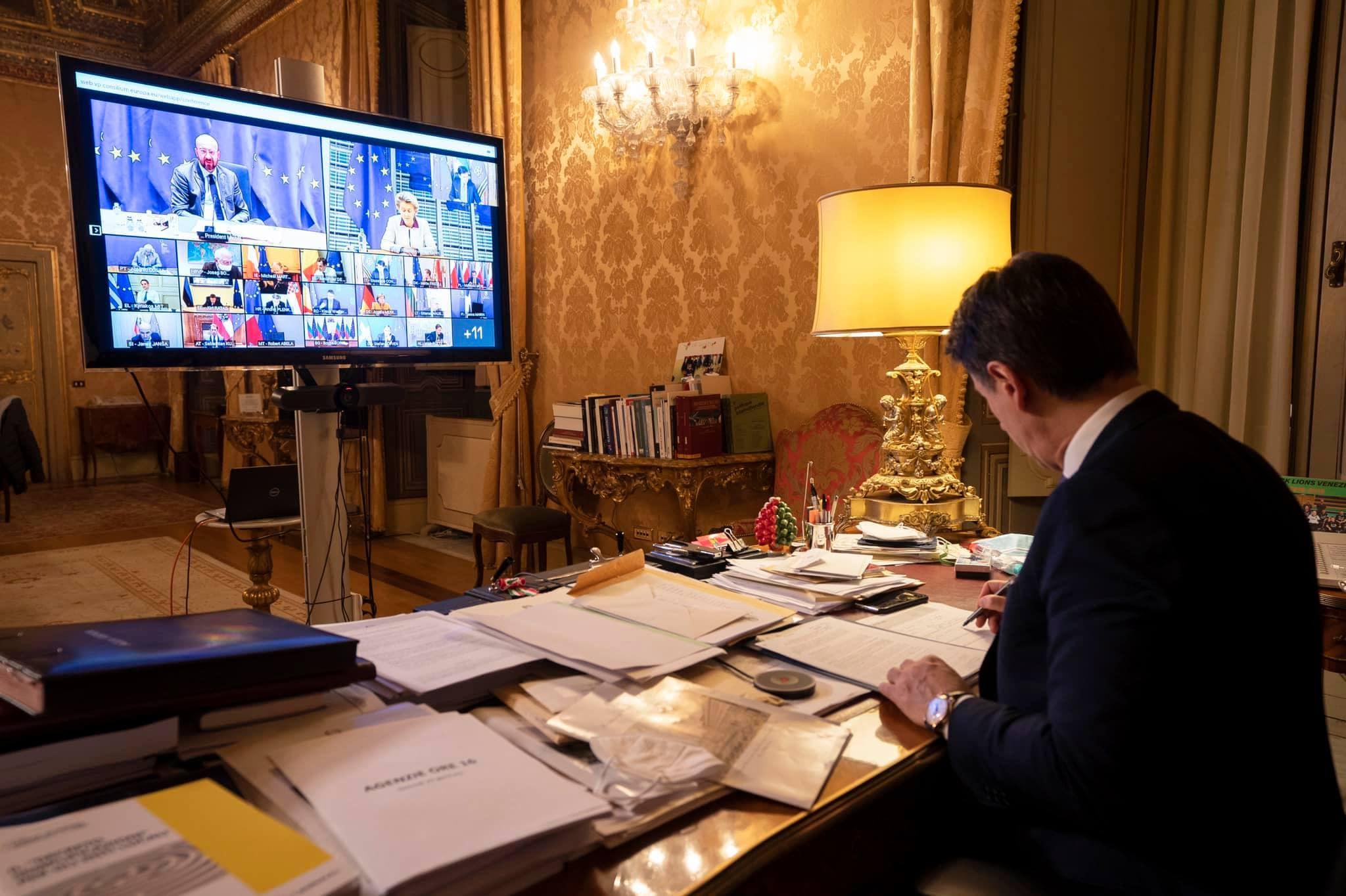 dimissioni conte crisi di governo