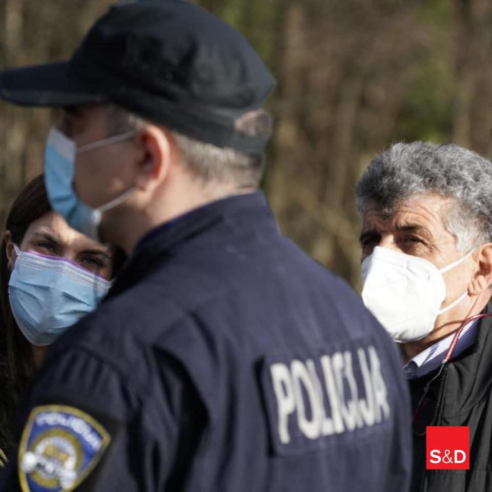 Bartolo polizia croazia