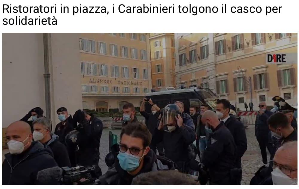 titolo dire carabinieri ristoratori