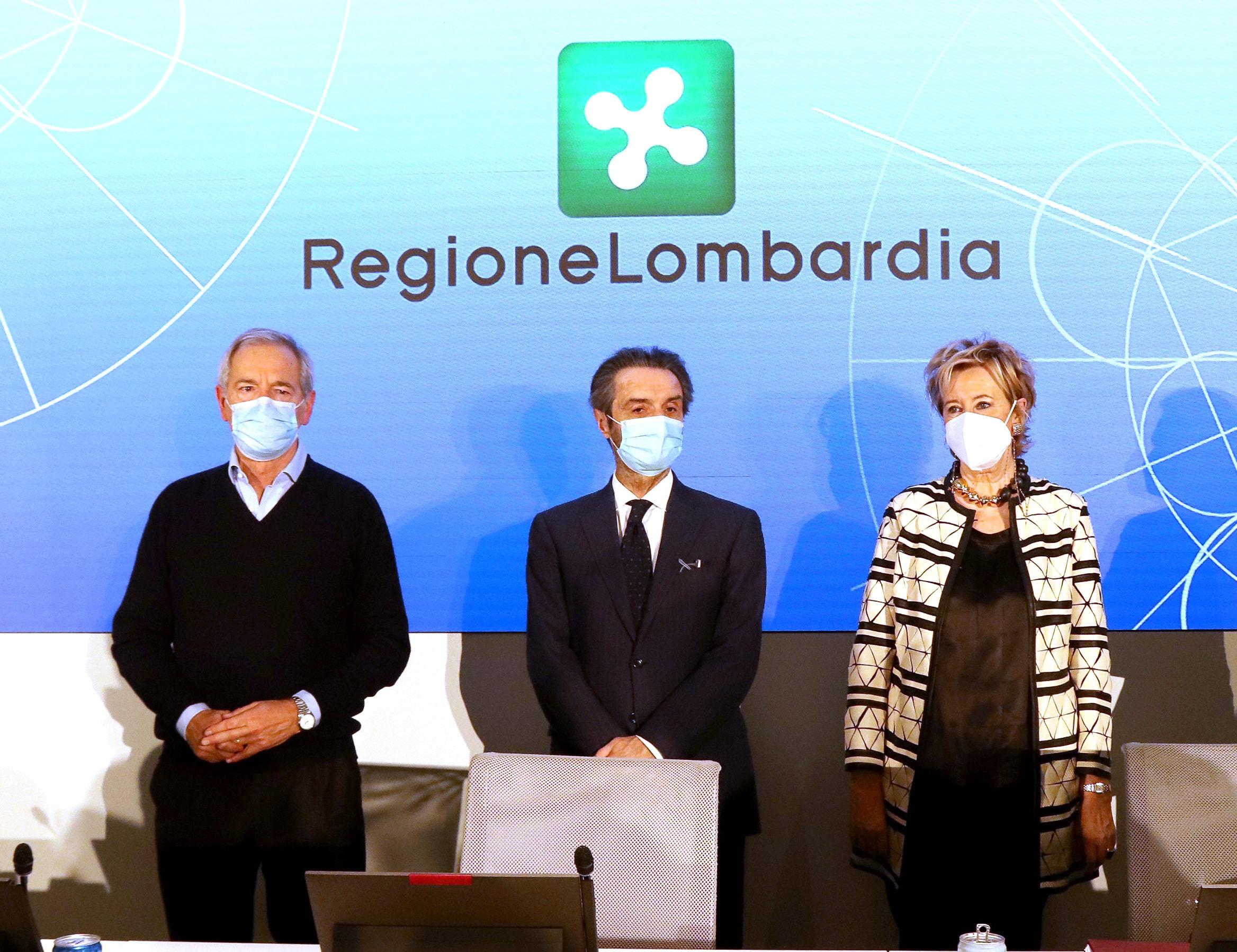 Lombardia vaccini fontana Bertolaso Moratti