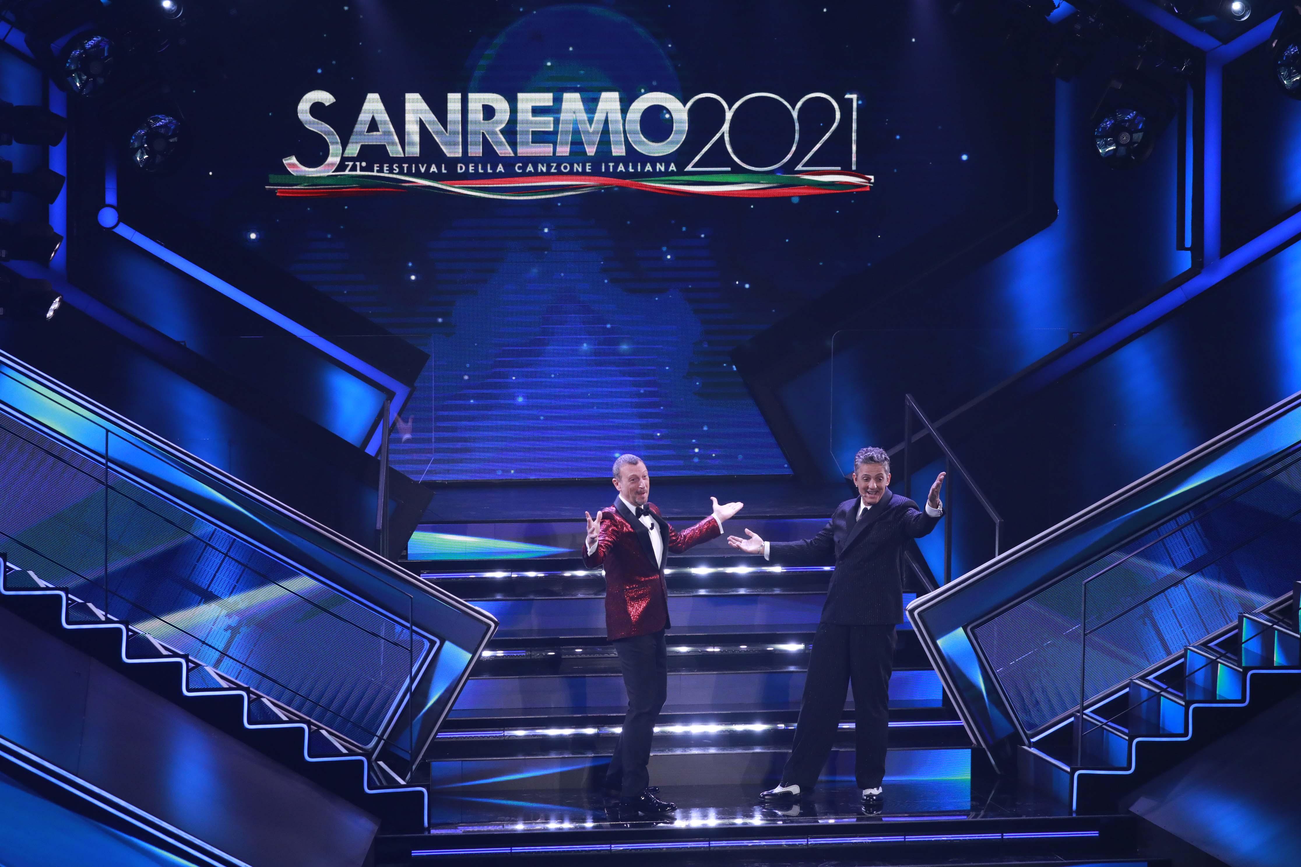 Sanremo Amadeus Fiorello