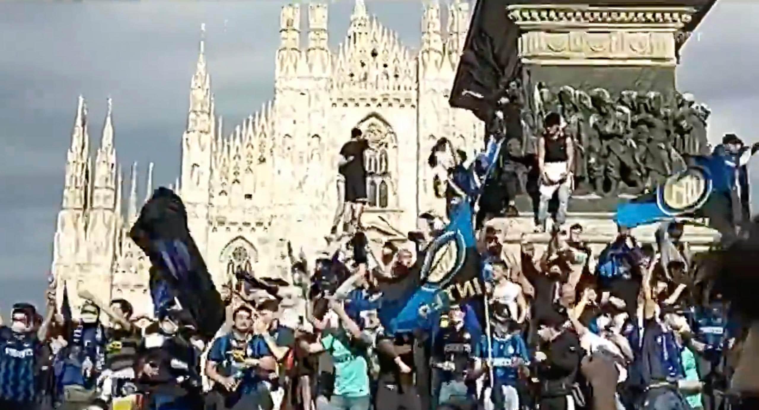 scudetto Festeggiamenti Inter