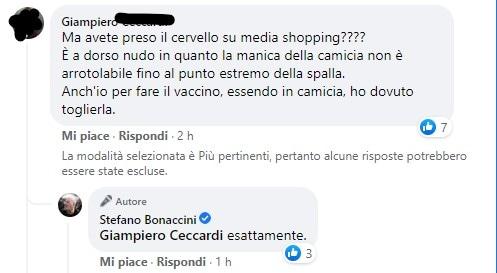 bonaccini petto nudo vaccino 2