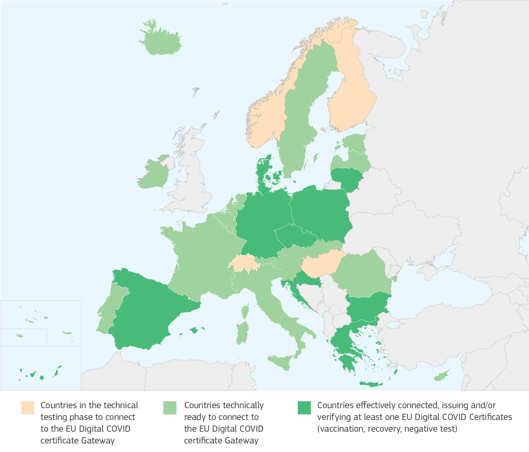 green pass europeo come funziona 1