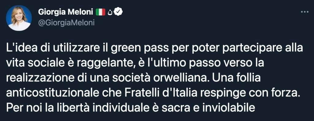 """Giorgia Meloni: """"Il Policlinico di Caserta? Uno dei più grandi scandali"""""""