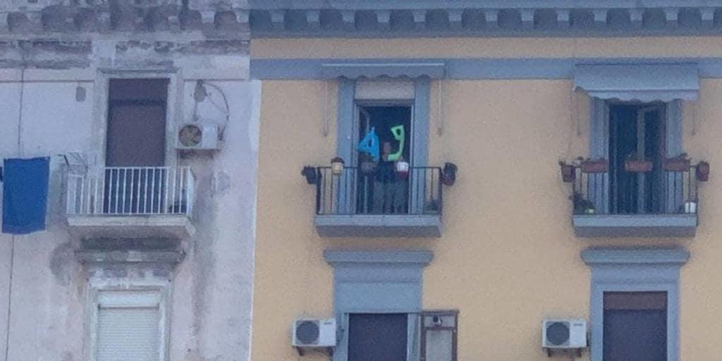 napoli salvini balcone 49 gli incubi