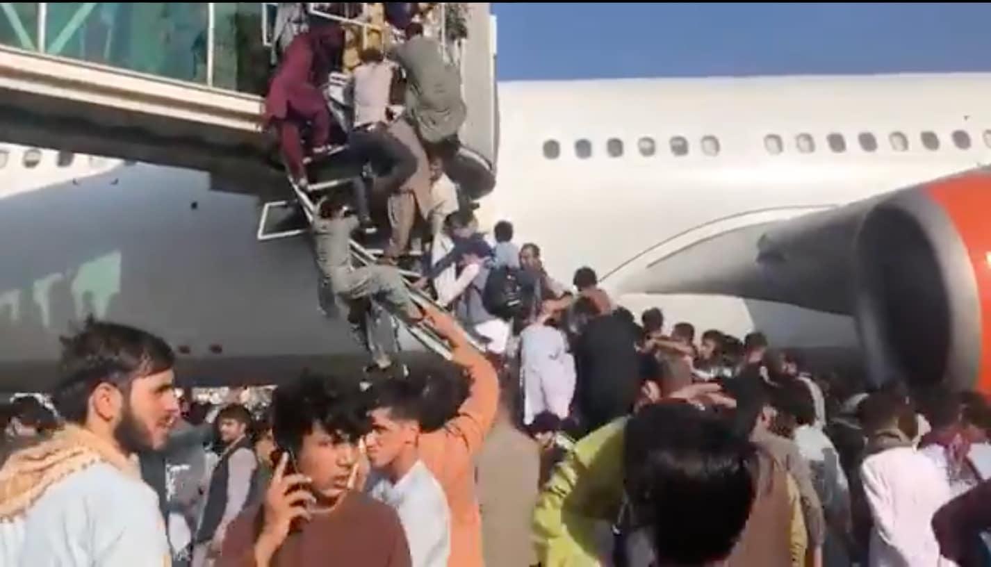 kabul aeroporto voli ressa