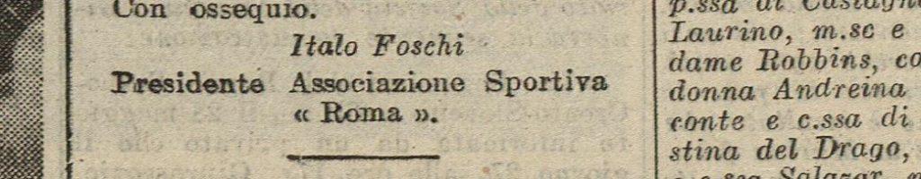 italo foschi roma