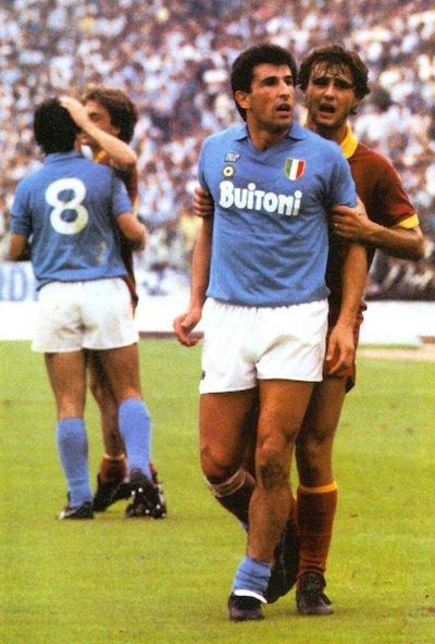 precedenti Roma-Napoli 1987 Bagni Giannini