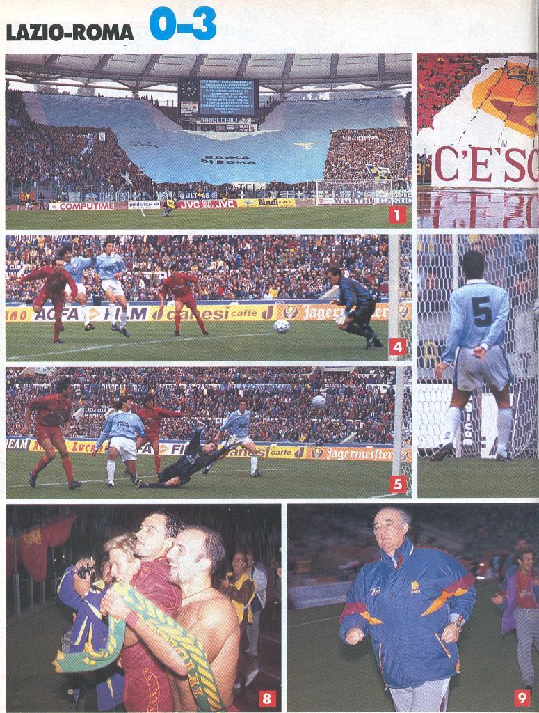 Le 7 cose indimenticabili di Lazio-Roma del 1994 - Rudi