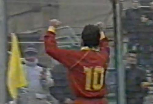 Precedenti Atalanta-Roma 1990 Giannini