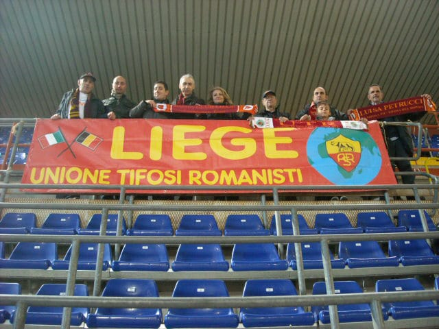 Roma Club liegi a Marassi