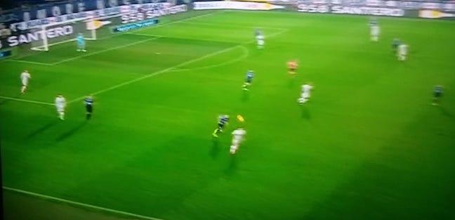Atalanta-Roma 3-3 pressione primo tempo Roma