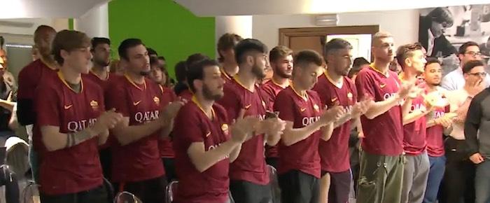 Roma conferenza stampa De Rossi