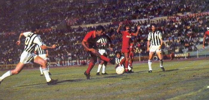 Sandro Tovalieri Roma Ascoli 1985-86 Coppa Italia