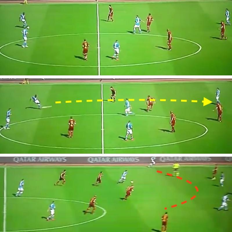 Roma-Napoli 1-4 Koulibaly Verdi Mertens