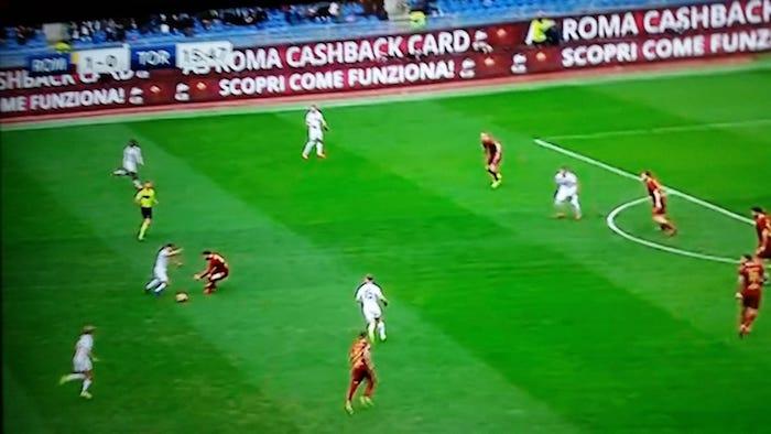 analisi tattica Roma-Torino 3-2