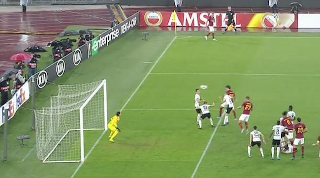 zaniolo gol Roma Borussia Monchengladbach