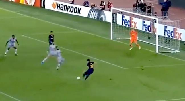 Zaniolo Gol Roma Istanbul basaksehir