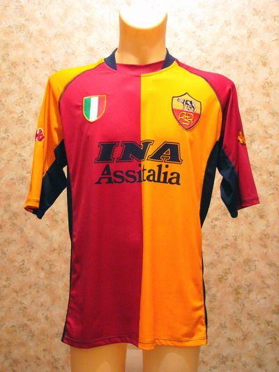 maglia roma champions league 2001-2002