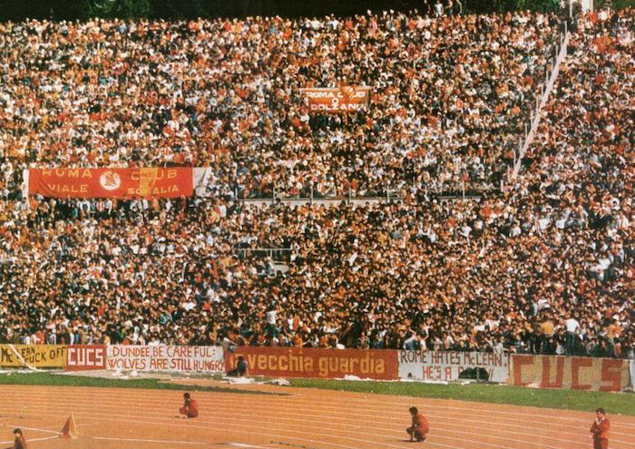 Roma-Dundee United 1984 Curva Sud
