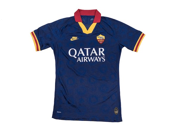 Roma terza maglia blu