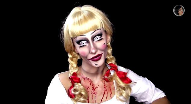 Trucco Annabelle Halloween.Annabelle Il Tutorial Che Ti Insegna Come Trasformarti In Lei