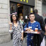 mc donald's pigiama piazza duomo (1)