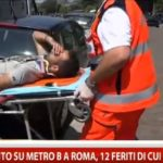 incidente alla metro B a Roma (1)