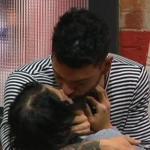 alessandro e federica bacio grande fratello