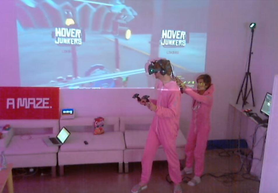 48 ore realtà virtuale Thorsten Wiedemann htc vive - 1