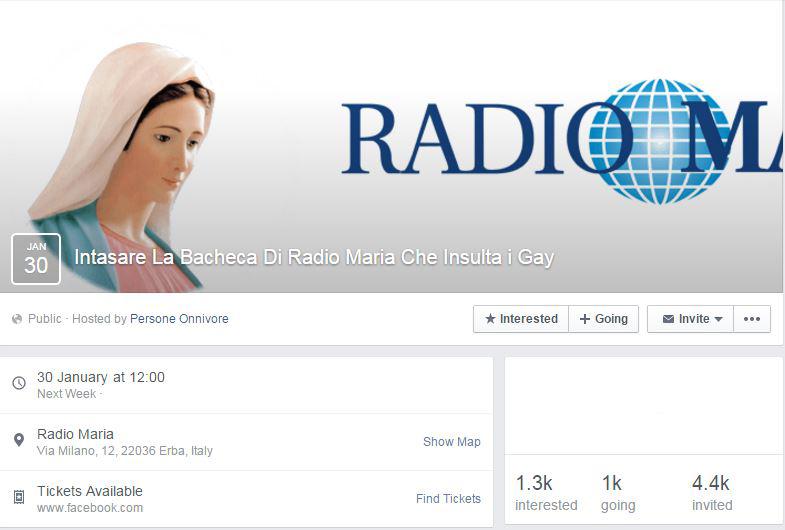 radio maria family day evento facebook - 1
