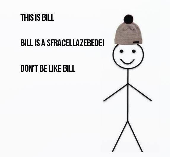 sii come bill personalizzato 8