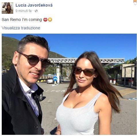 Lucia Javorčeková sanremo