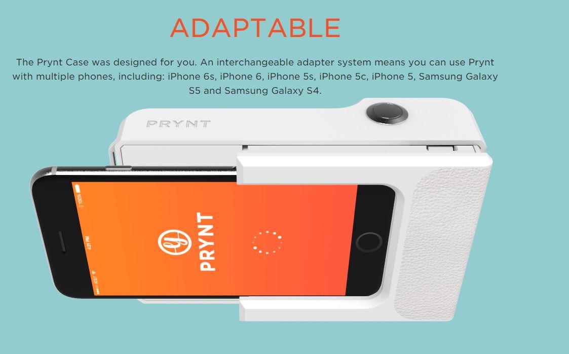 prynt case polaroid cover smartphone stampante - 2