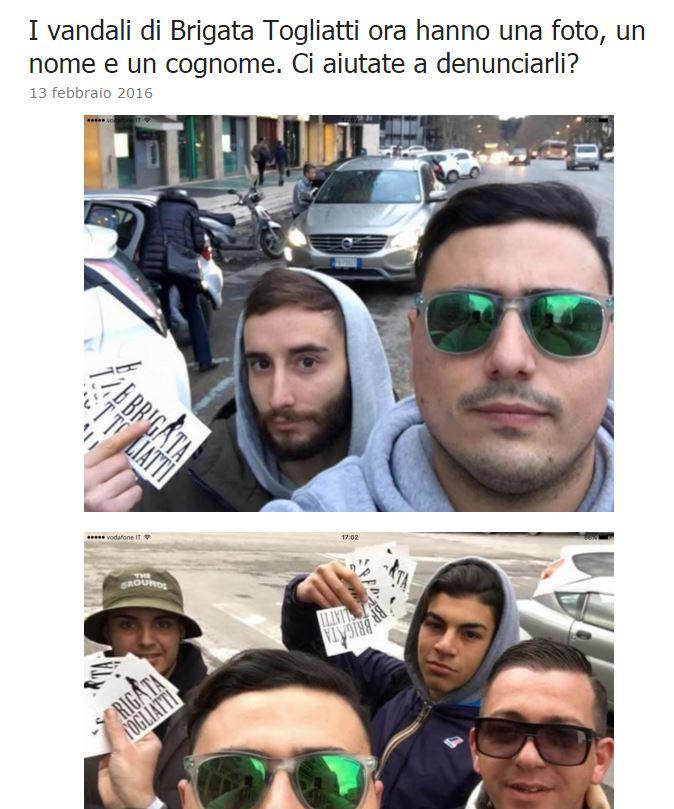 roma fa schifo brigata togliatti - 1