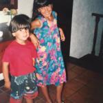 belen rodriguez infanzia - 5