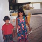 belen rodriguez infanzia - 6