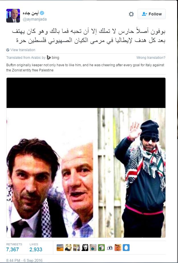 gianluigi-buffon-free-palestine-bufala-3