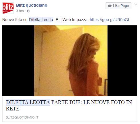 Diletta leotta icloud