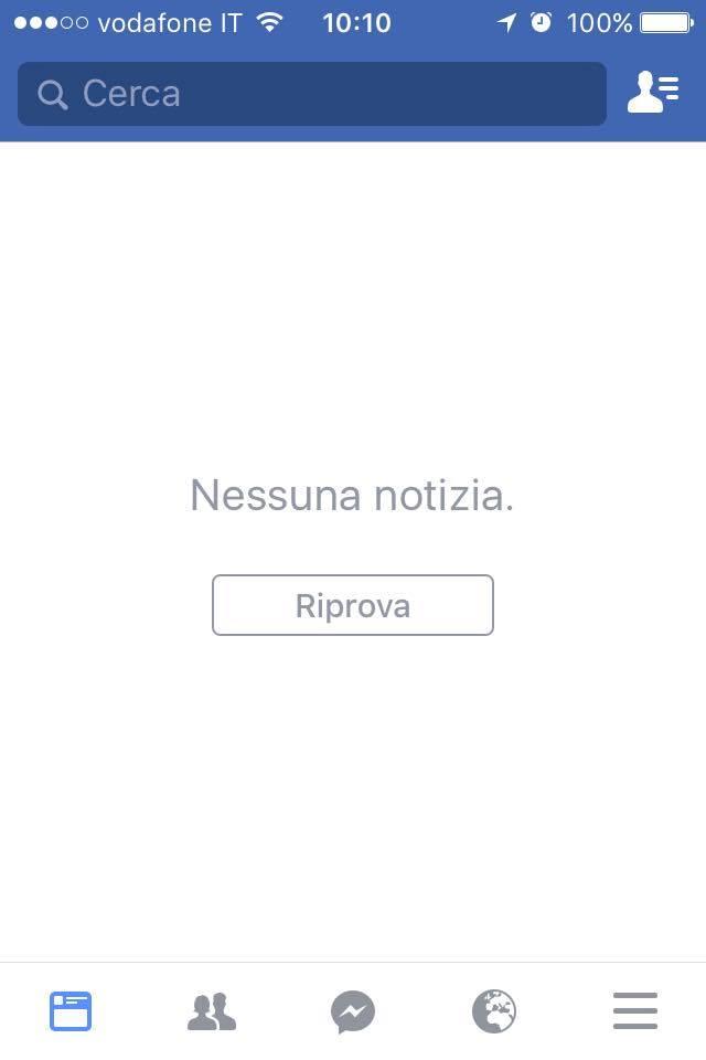 facebook non funziona iphone smartphone mobile