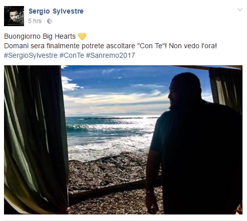 sergio sylvestre con te sanremo 2017 testo -1