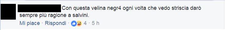 Mikaela Neaze Silva insulti razzisti 1
