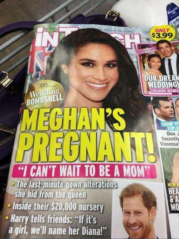 Meghan Markle incinta